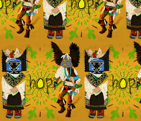 "Kachina ""dancers of the desert"""