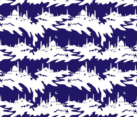 Arabian Nights fabric by minimiel on Spoonflower - custom fabric