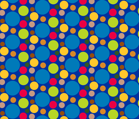 Zap Spots fabric by evenspor on Spoonflower - custom fabric
