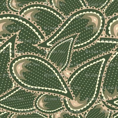 Paisley Camo Pattern