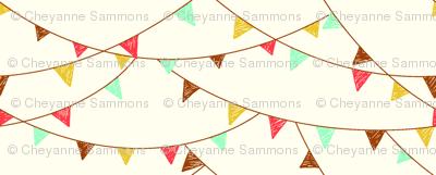 flags - cream