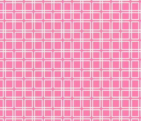Pink Square Pattern fabric by megan1004 on Spoonflower - custom fabric