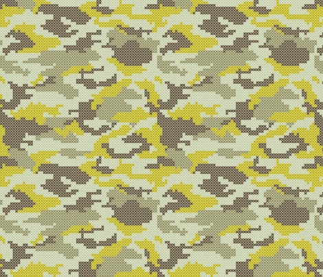 camoufloss fabric by nadiahassan on Spoonflower - custom fabric
