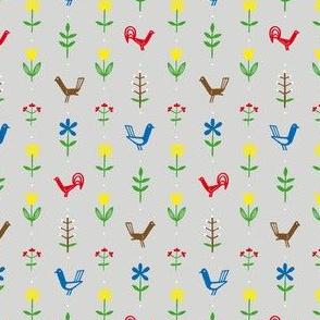 Flowers & Hens