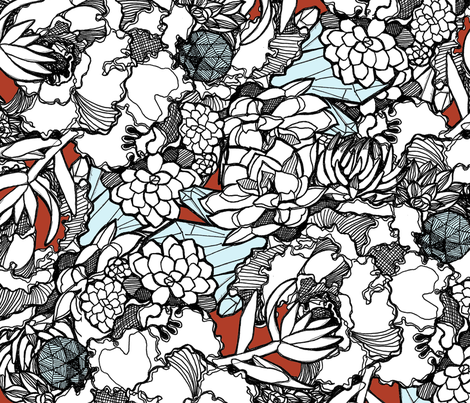 Kristen fabric by wolfie_and_the_sneak on Spoonflower - custom fabric
