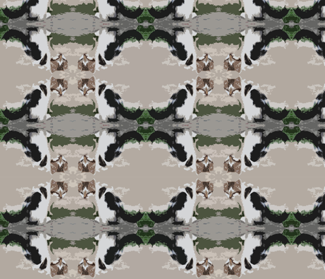 kitten camo fabric by liquidambar on Spoonflower - custom fabric
