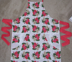 7 Piece Strawberries Apron