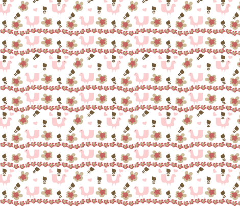 Fancy Lady fabric by sbd on Spoonflower - custom fabric