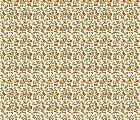 katie blossoms fabric by mytinystar on Spoonflower - custom fabric