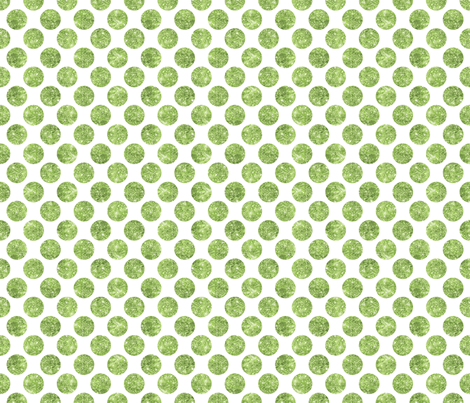 Glitter Dot Green fabric by cynthiafrenette on Spoonflower - custom fabric