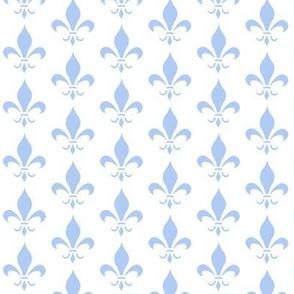 Blue Fleur De Lys