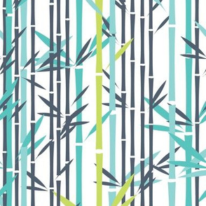 Lush Bamboo (Poppyseed/Foo Blue/Koi Pond/Midori)