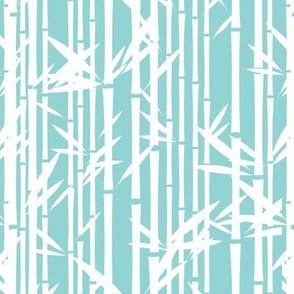 Lush Bamboo Reverse (Koi Pond)