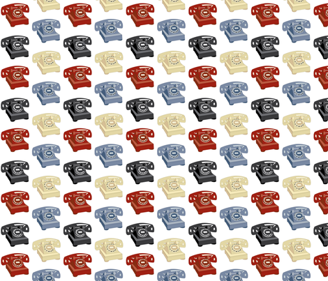 Medium Multi- Rotary fabric by audreyclayton on Spoonflower - custom fabric