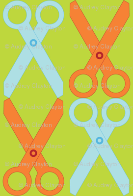 Orange/Blue Scissors