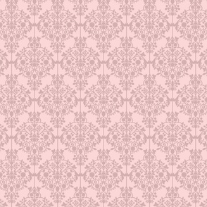 Lilly's pink Damask