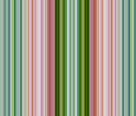 Stripe Pink Wild Roses fabric by paragonstudios on Spoonflower - custom fabric
