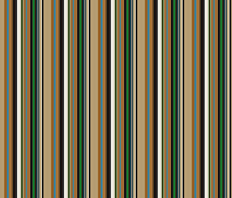 Stripe Kachina Dancer  fabric by paragonstudios on Spoonflower - custom fabric