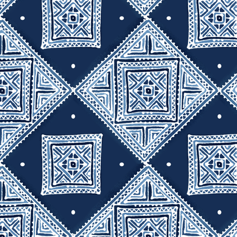 Amuletii Garden fabric by spellstone on Spoonflower - custom fabric