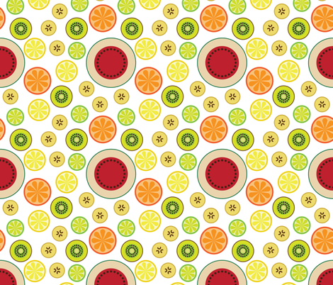 fruit fabric by dennisthebadger on Spoonflower - custom fabric