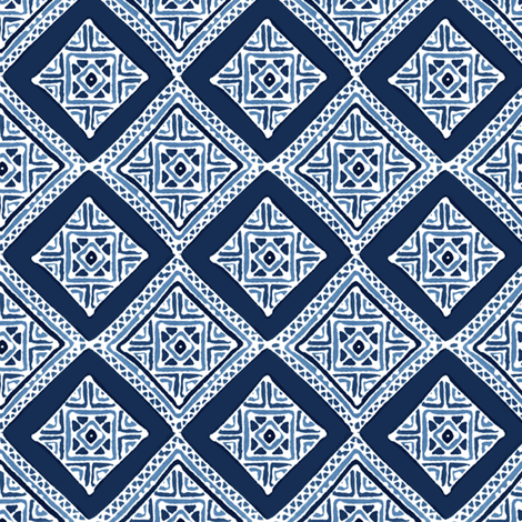 Amuletii Diamond fabric by spellstone on Spoonflower - custom fabric
