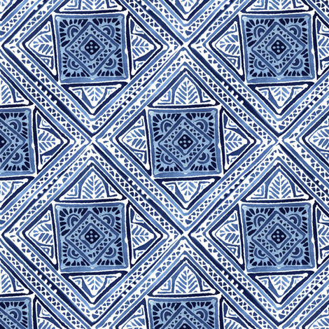 Amuletii Leaf fabric by spellstone on Spoonflower - custom fabric