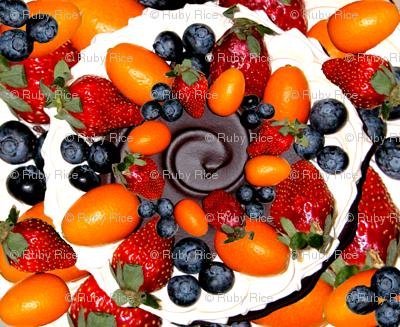Fruit, Chocolate, Cream...