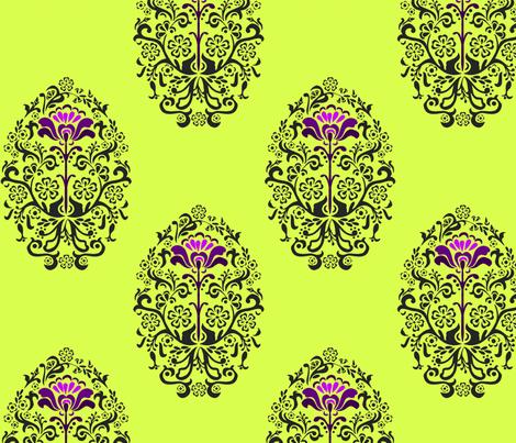 Folkloric design fabric by renule on Spoonflower - custom fabric