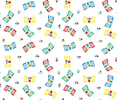 Windows fabric by shirlene on Spoonflower - custom fabric