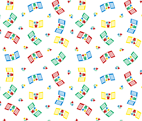 Windows fabric by shirlene on Spoonflower - custom fabric