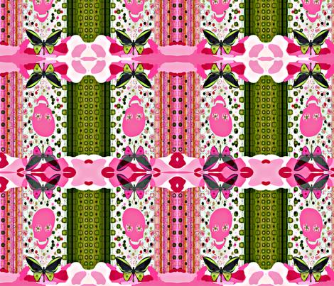 Camo Stripe fabric by paragonstudios on Spoonflower - custom fabric