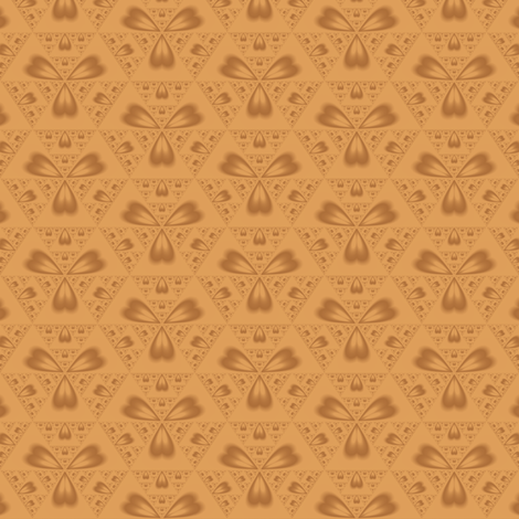Autumn Hearts © 2010 Gingezel™ Inc. fabric by gingezel on Spoonflower - custom fabric