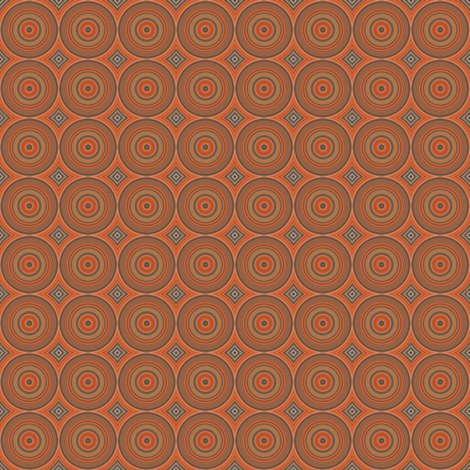 Maple Rings © 2010 Gingezel™ Inc. fabric by gingezel on Spoonflower - custom fabric