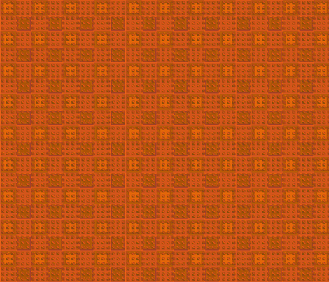 Oak Tiles in Orange © 2010 Gingezel™ Inc. fabric by gingezel on Spoonflower - custom fabric