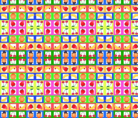 fruits fabric by elfyne on Spoonflower - custom fabric