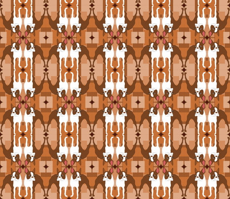 Crazy Duke fabric by missyq on Spoonflower - custom fabric