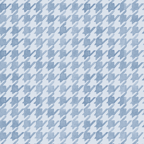 Houndstooth - Periwinkle Tones fabric by pattysloniger on Spoonflower - custom fabric