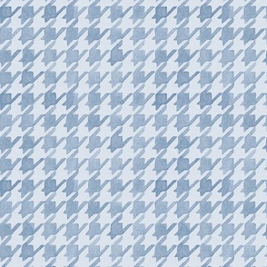 Houndstooth - Periwinkle Tones