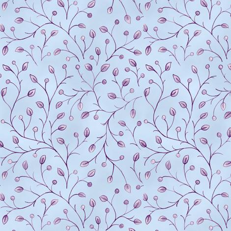 Summer Garden Vines fabric by pattysloniger on Spoonflower - custom fabric