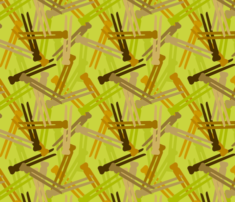 Laundry Day Camo Green fabric by jenimp on Spoonflower - custom fabric