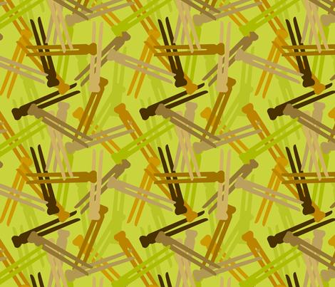 Laundry Day Camo Green fabric by jenimp on Spoonflower - custom fabric