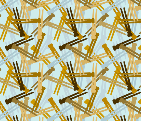 Laundry Day Camo fabric by jenimp on Spoonflower - custom fabric