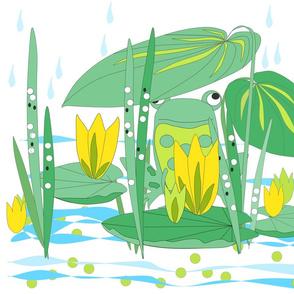 Frog_and_rain
