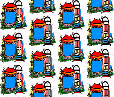 Come In and Shop fabric by cyndilou on Spoonflower - custom fabric