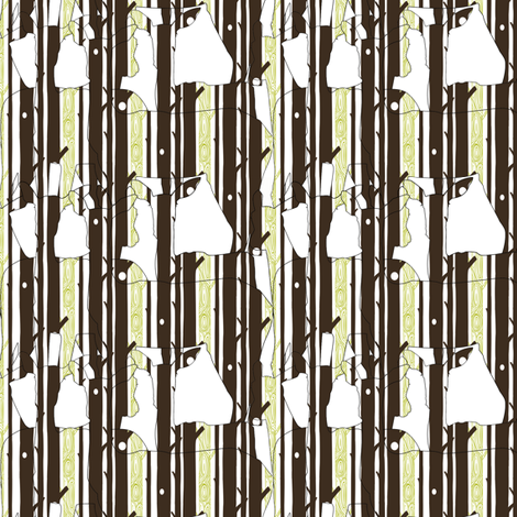 Deer Forest - Camo fabric by ttoz on Spoonflower - custom fabric