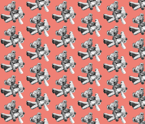 love_bears fabric by hollishammonds on Spoonflower - custom fabric