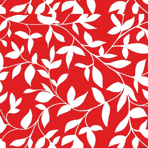 red vine with leaves