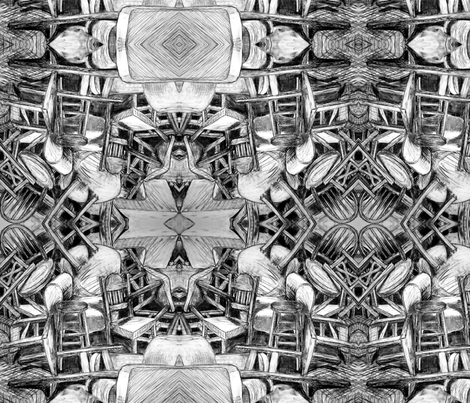 chairs fabric by hollishammonds on Spoonflower - custom fabric