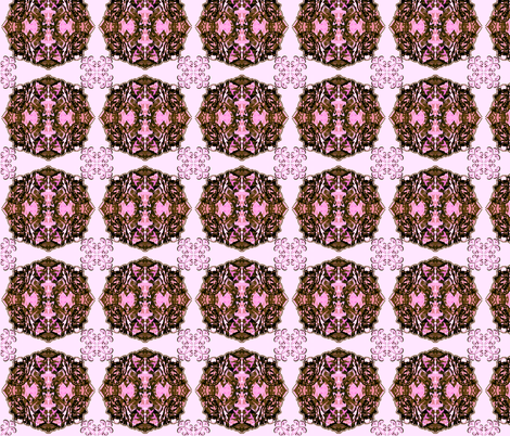 Pink camo John World Peace fabric by paragonstudios on Spoonflower - custom fabric