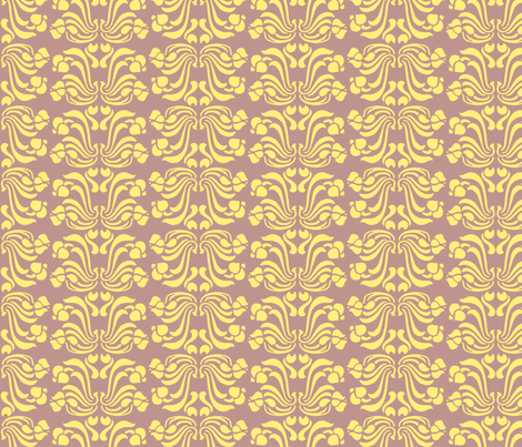 purple_dink-ed fabric by awitsell on Spoonflower - custom fabric